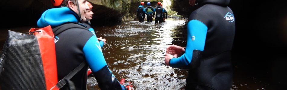 Visit our Courses page to view available dates for courses Technical Canyon Workshops/ Advanced Canyon and also the Single Pitch guide assessments available